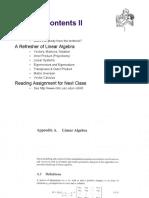 CS545 Lecture 2Matrix Algebra