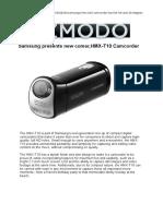 T10 Gizmodo Release