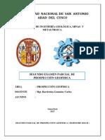 Resolucion Del Examen de Geofisica Segunda Parcial