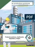 Material Productos Quimicos Clasificacion Etiquetado Riesgos