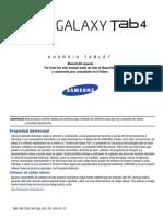 Wif Sm-t230 Galaxy Tab 4 Sp Um Kk Nc4 f3