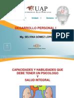 Desarrollo Personal Capacidades y Habilidades-salud Integra SEMANA 2