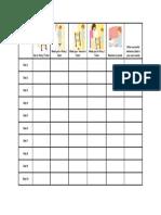 Potty Chart