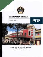Perjanjian Kinerja Tahun 2018 RSUD Ngudi Waluyo Wlingi