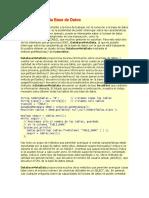 Información de La Base de Datos
