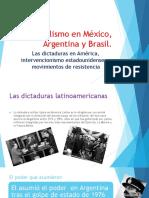 El Populismo en México, Argentina y Brasil