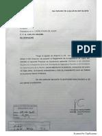 Proyecto Declaración. Rechazo Despidos en Agricultura Familiar