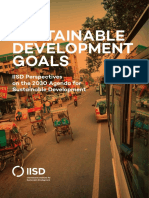 Sustainable Development Goals Iisd Prespectives