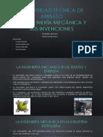 La Ingeniería Mecánica y Sus Invenciones