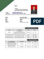 Curriculum Vitae (Eng) Formal