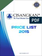 Price List Juni 2016