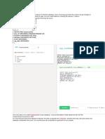 Create a Database in MySQL