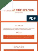 Plan de Fidelizacion