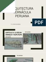 ARQUITECTURA VERNÁCULA PERUANA