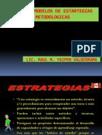 Tipos y Modelos de Estrategias