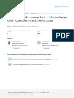 MinimumReinforcementRatioforConcreteintheJordainianCode