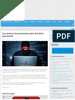 Las Mejores Herramientas Para Descifrar Passwords - Linux Para Todos