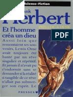 Frank Herbert - Et l'Homme Créa Un Dieu