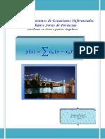 Unidad 6. Solución de Ecuaciones Diferenciales Por Medio de Series de Potencias