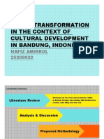 Transformation and Culture