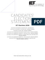 Election Statements
