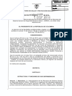 Decreto 1429 Del 01 de Septiembre de 2016