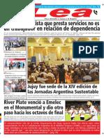 Periódico Lea Viernes 27 de Abril Del 2018