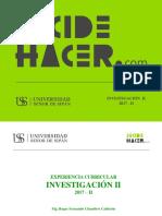 17-II Investigación II - Normas Presentación Productos