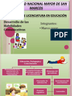 licenciatura de eduacion de Universidad Nacional Mayor de San Marcos