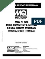 MC3 SERIES Honda Electric Rev 1 Manual