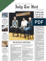 The Daily Tar Heel for September 20, 2010