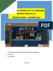 Informe Técnico de La Campana Extractora