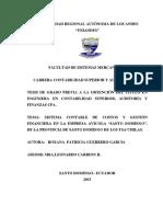 Avicola Santo Domingo PAME