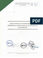 Guía de Productos Observables