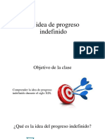 La Idea de Progreso Indefinido