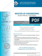 EIT Masters Engineering Electrical Sytems MEE Brochure