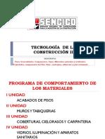 Tecnología de La Construcción II