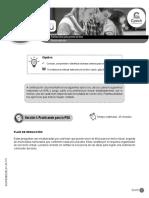 3-Guía Entrelazo Ideas Para Generar Un Texto Plan de Redacción