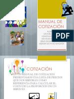 Manual de Cotización 2