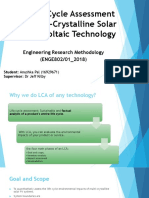A Life Cycle Assessment of Multi-Crystalline Solar Photovoltaic-11