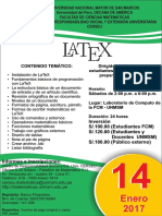 LATEX - 14 Enero 2018