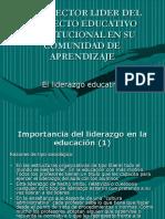 EL LIDERAZGO (?)EDUCATIVO-ESTRATEGIAS PARA LA DIRECCIÓN
