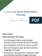 Data Fokus Dalam Keperawatan Keluarga