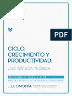 Ciclo, Crecimineto y Productividad..pdf