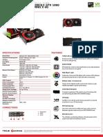 Msi Geforce Gtx 1060 Gaming x 6g Datasheet