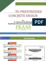 Chapter 5 - Prestressed Design
