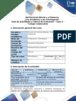 Guía de Actividades y Rubrica de Evaluación - Fase 3 - Realizar y Participar El Trabajo Colaborativo 1