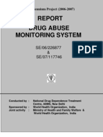 Mental Health & Substance Abuse Drug Abuse Monitoring System