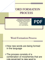 200755263 Word Formation