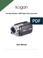 Kogan Camcorder Manual